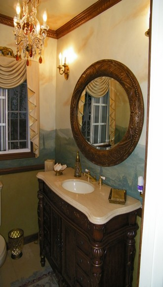 ... depending of the bathroom style we can help you design the right concept for your bathroom, give us a call or Contact US for a free estimate